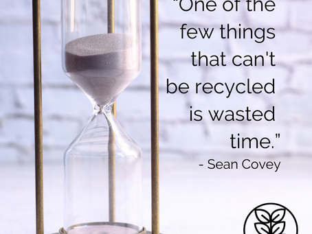 Monday Moment: How will YOU use your time this week?