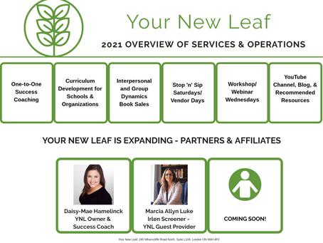 2021 YNL SERVICE 0VERVIEW ANNOUNCEMENT!