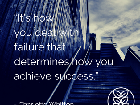 Monday Moment: How will YOU deal with failure this week?