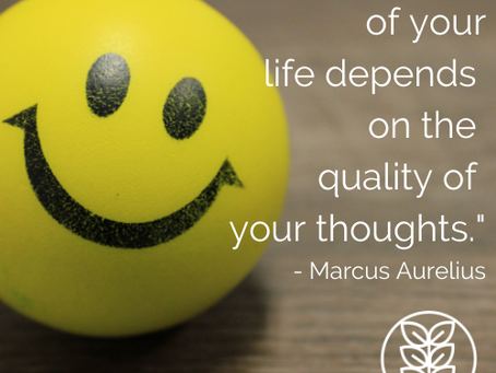 Monday Moment: How will YOU change the quality of your thoughts this month?