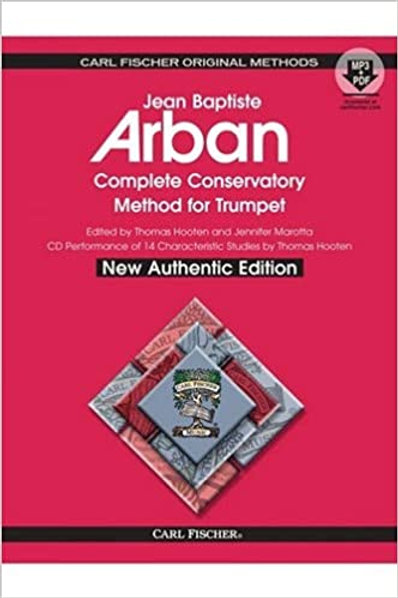 Carl Fischer Arban Complete Conservatory Method For Trumpet Spiral Bound