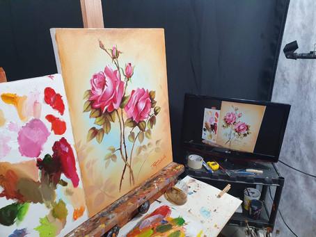 Tutorial Como Pintar Flores