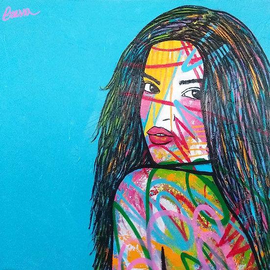Woman Portrait Study 9919
