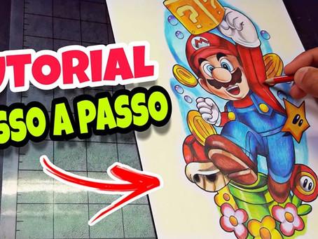 Tutorial Como Desenhar o Mario Bros