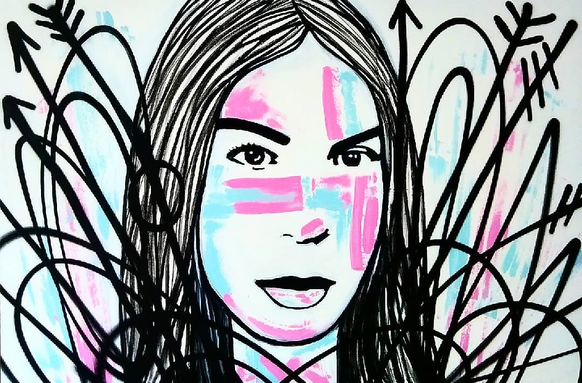Woman Portrait Study BAE10
