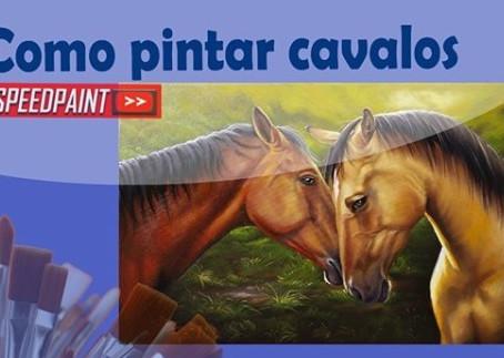 Como Pintar Cavalos