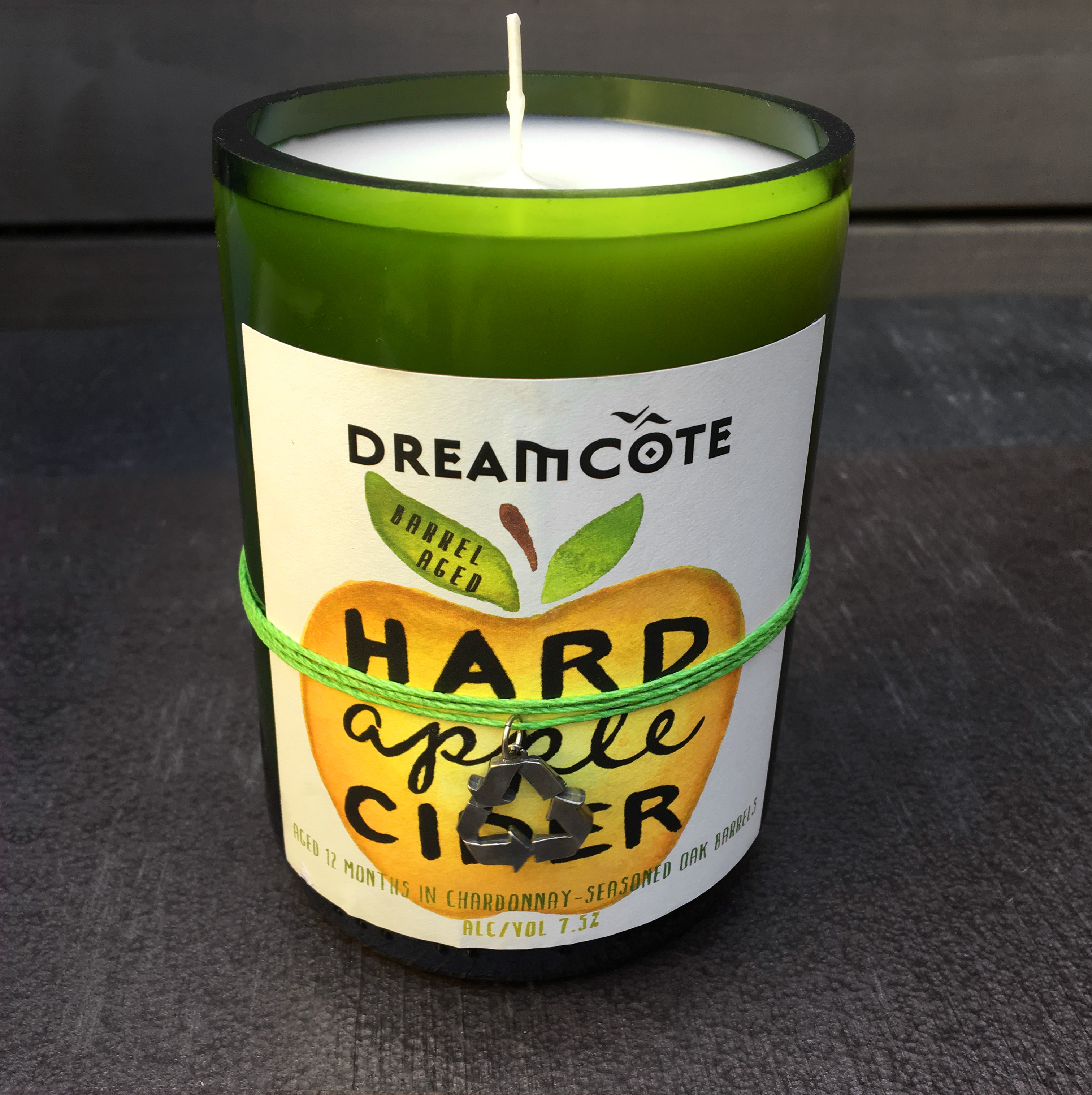 Tag It Green Candle 7