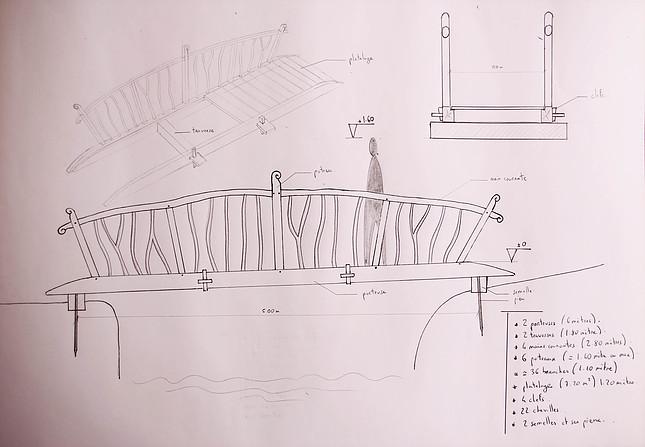 plan du pont