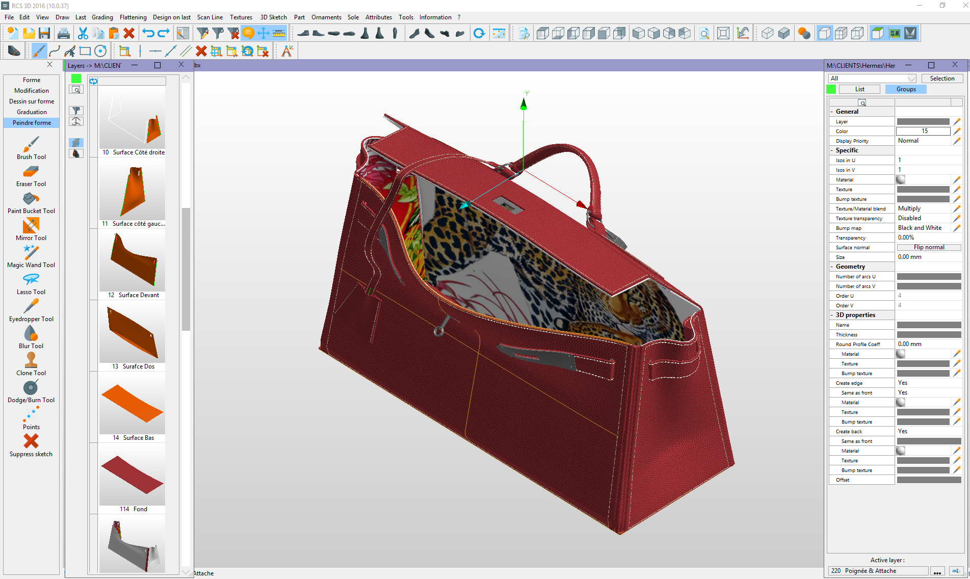 STRATEGIES - Romans CAD 3D Footwear Design