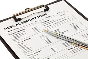 Patient Medical History Forms