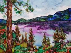 Kookenay Lake, British Columbia | £65 | Mounted £80