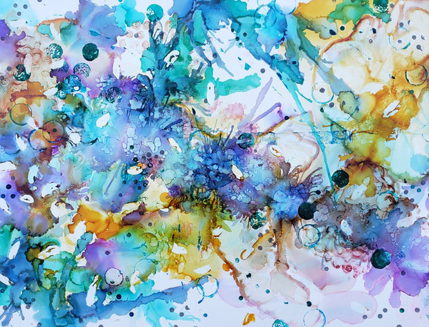 Spring Explosion SOLD