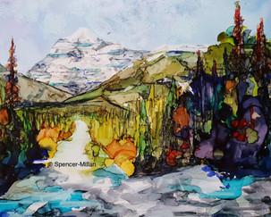 Mount Robson, Rockie Mountains | Mounted £70