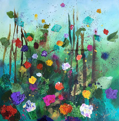 A Sea of Flowers   Sold