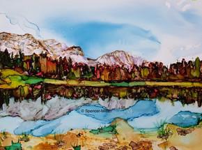 Bow Valley Provincial Park, Kananaskis | £65 | Mounted £80