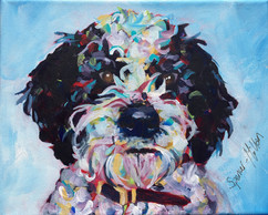 Commissioned Doggy Portrait