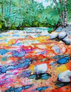 Alberta River, Alberta | £65 | Mounted £80