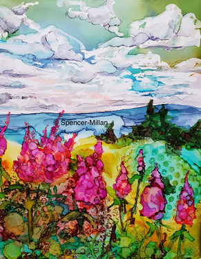 Overlooking the Ocean | Bonaventura Lake, Gaspe, Quebec | SOLD
