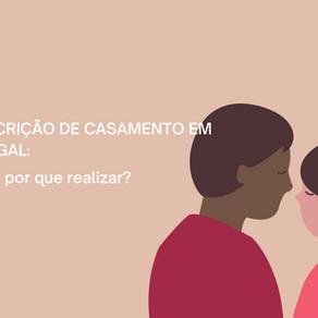 Como fazer a transcrição de casamento em Portugal
