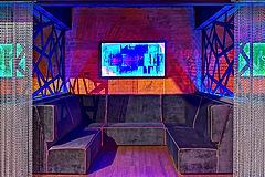 Интерьер, световые короба, стеновые 3D панели, пресволы