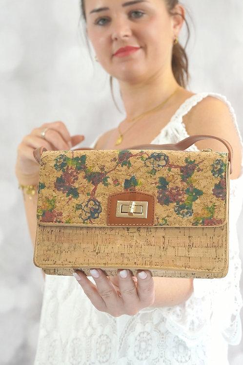 Tasche mit Blumen