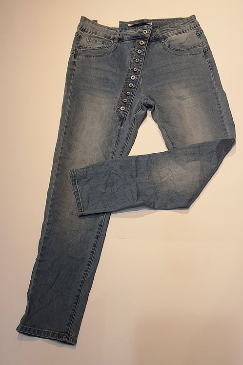 Jeans mit Knopfleiste Art.Nr.F6782