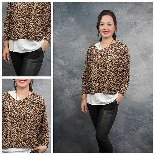 Shirt 3-Teile Animalprint