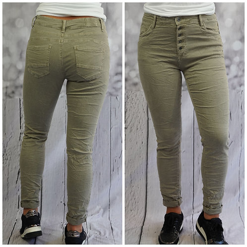 Jeans taupe