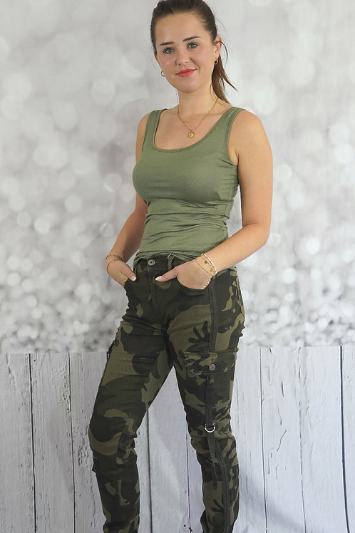 Cargo-Camouflage-Jeans