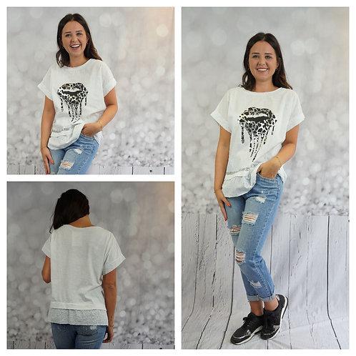 T-Shirt Mund