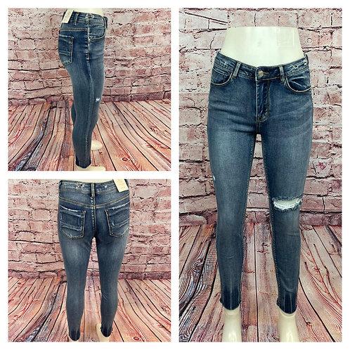 Skinny Jeans, destroyed