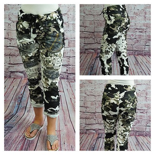 Joggpants, Camouflage