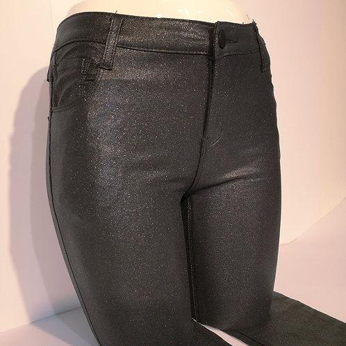 Glitzernde Hose schwarz