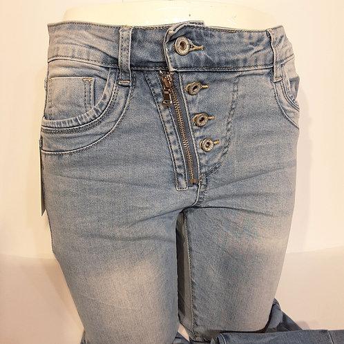 Jeans mit RV und Knöpfe Art.Nr. F6759-1