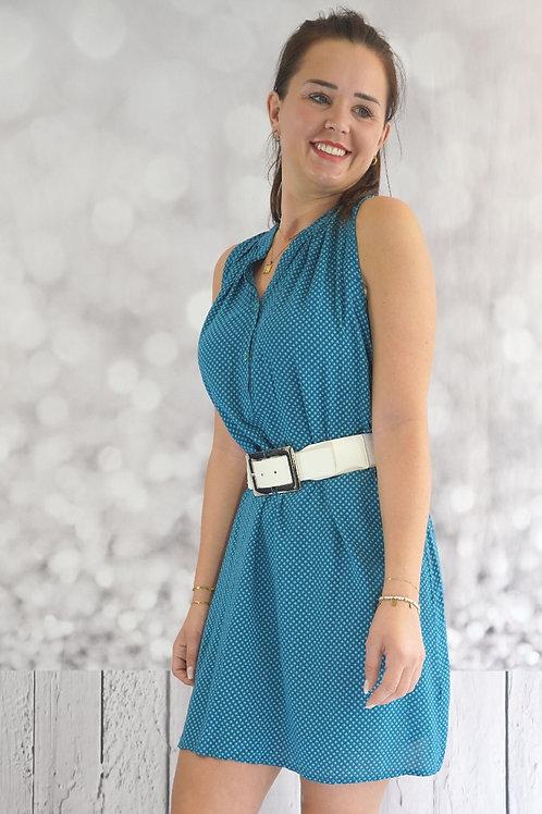 Blusen-Kleid