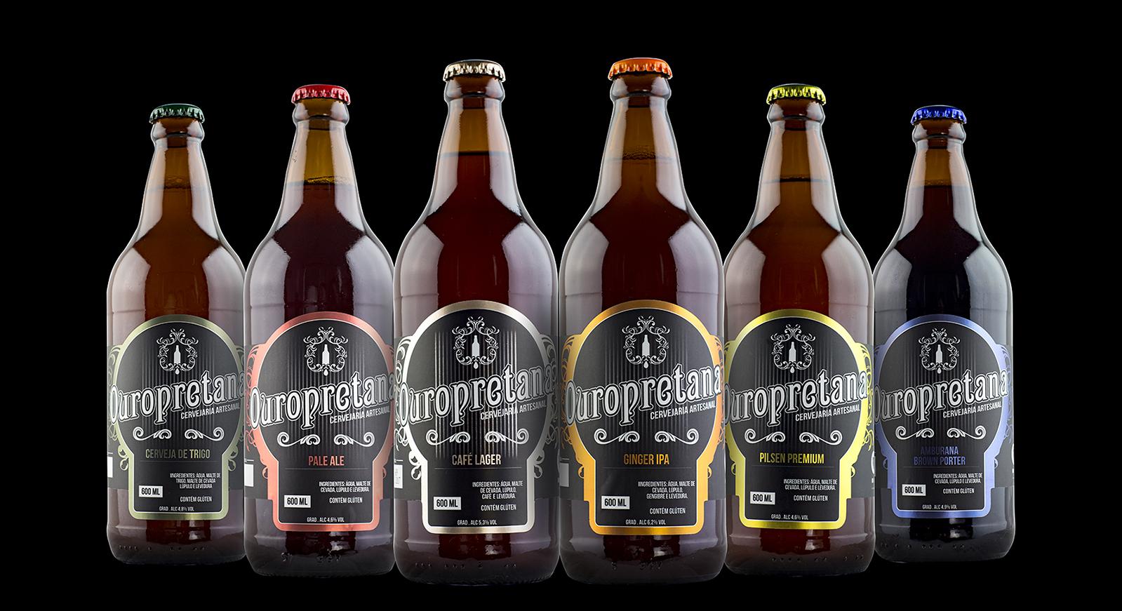 Rótulos Cervejaria Ouropretana
