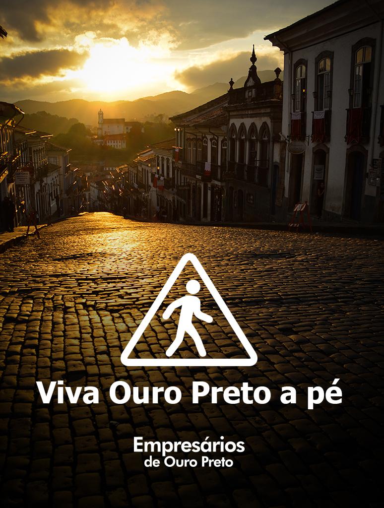 Ouro Preto a pé