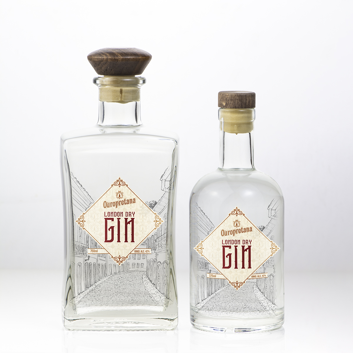 Gin London Dry Ouropretana