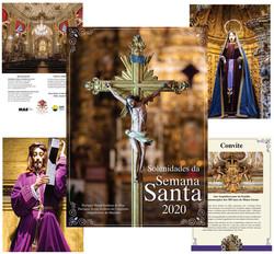 Convite Semana Santa 2020 - Ouro Preto