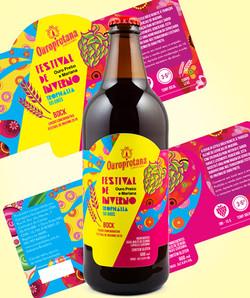 Cerveja Ouro Preto - Festival
