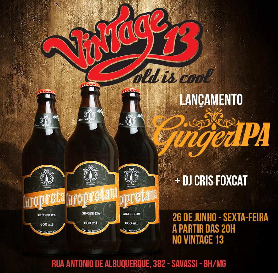 Lançamento da GingerIPA