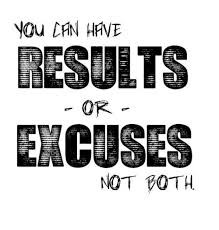 Stop letting excuses get in the way of your training