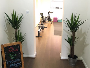 Empowered Fitness personal training is open for business!
