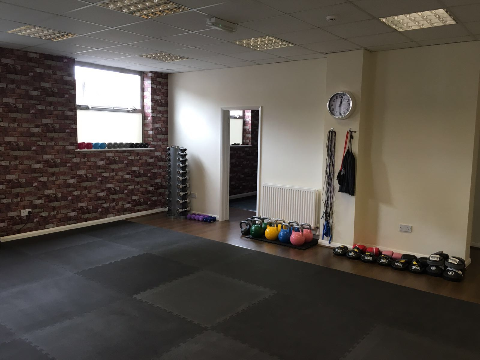 Main training room