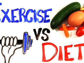 What's more important: Diet or Exercise?