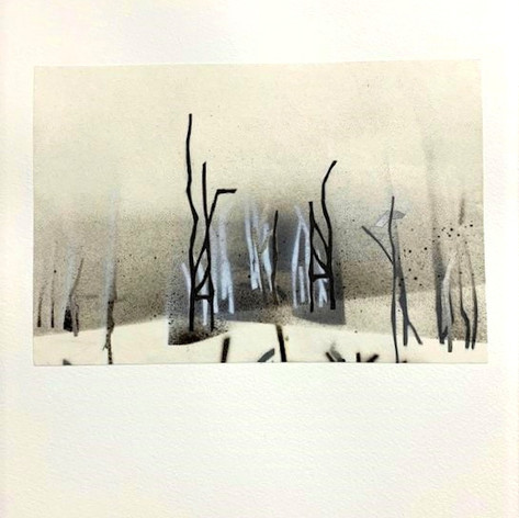 Paper Forest Series #9