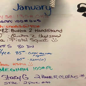 Consistency Club: January 2018