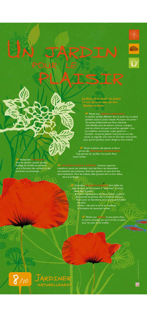 Jardiner 8 exposition instants mobiles