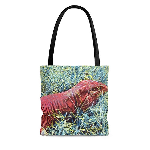 Red Tegu Tote Bag For Sale, Tegu, Lizard, Argentine Tegu, Tegu World