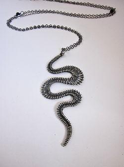 Woven Wire Pendant